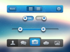 Apple ui interface with blue and grey buttons Free Psd. See more inspiration related to Cloud, Camera, Blue, Button, Apple, Elements, Ui, Buttons, Psd, Grey, Mac, Material, Interface, Upload, Ios, Push, Horizontal, Push button, Os, Albums and Cloud upload on Freepik.