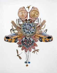 Brooklyn Museum: That Place: Selections from the Collection #newsome #collage #rashaad #art