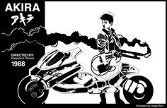 AKIRA film poster #akira #1988 #anime