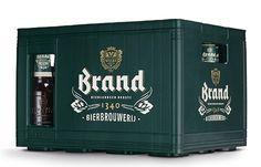 Brand Bier Case #packaging #beer #label #bottle
