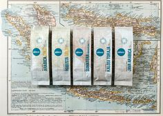Excelso1 #packaging #map #branding #coffee