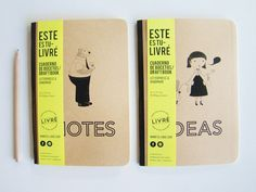 Tu Livre » Paper goods, type & print » Cuaderno de Boceto / DraftBook #ideas #notes