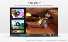 Modern video player with cartoon animals Free Psd. See more inspiration related to Cartoon, Animals, Video, Modern, Psd, Material, Interface, Video player, Cartoon animals, Player, Horizontal and Psd material on Freepik.