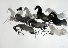 Wyniki Szukania w Grafice Google dla http://1.bp.blogspot.com/-gtoqzSQDeTI/To4uGn3AuNI/AAAAAAAAAFE/aRikF58nixk/s1600/artwork_photo_216_194.j #horses #ink #black #illustration #wilkon #watercolor