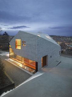 House 36 is Shaped like a Mountain Crystal