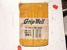 All sizes | Grip-Well. | Flickr - Photo Sharing! #bag #print #vintage #typography