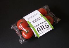 Far Foods : James Reynolds #packaging #tomatoes #travel