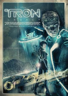 Tron Legacy by *turk1672 on deviantART #movies #poster