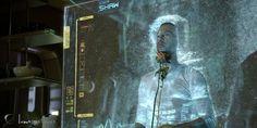 Luma Pictures' Prometheus Holograph #tech #user #prometheus #interface #space #physical #scifi #particles #gui