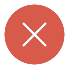 See more icon inspiration related to cross, close, cancel, error, forbidden, prohibition, interface and signs on Flaticon.