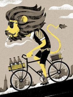 Art Crank - The Black Harbor #bicycle #san #illustration #artrank #francisco