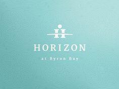 Horizon at Byron Bay #logo #identity #branding