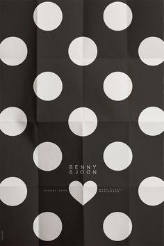 Benny & Joon #heart #movie #circles #minimalism #dots #shape #poster
