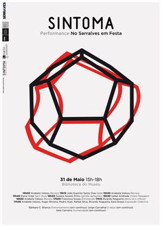sintoma at serralves em festa #geometry #design #graphic #poster