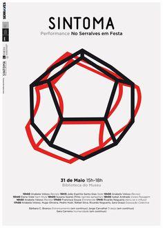 sintoma at serralves em festa #geometry #design #graphic #poster
