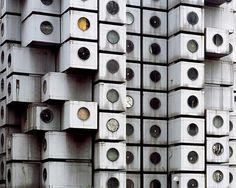 Nakagin Capsule Tower- Kisho Kurokawa #nakagin #tokyo #architecture #capsule