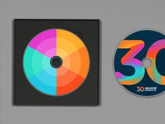 30SP brand development (colour palette) #pattern #branding #palette #brand #identity #logo #colour #cd