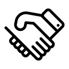 See more icon inspiration related to agreement, handshake, business, shake hands and Cooperation on Flaticon.