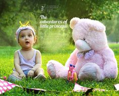 #baby #photography #concept #garden #teddy