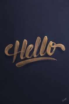Golden lettering / collection '13 #inspiration #lettering #typography