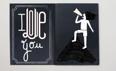 I love you #illustration #lettering #typography