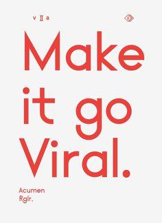 volume2a:Viral #design #poster