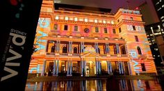 Vivid Sydney 3D Mapping – Fubiz™ #3d #map
