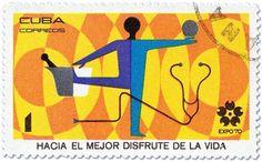 grain edit · Cuba Expo 70 Stamps #cuba #stamps #1970s #ephemera