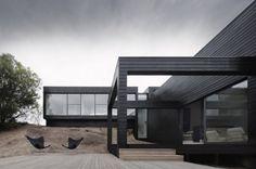 Ridge Road Residence by StudioFour #house #minimalist #architecture #minimal