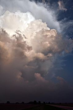 The Big Cloud by Camille Seaman #inspiration #photography #landscape