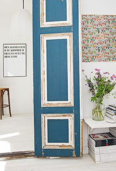french blue in sweden / sfgirlbybay #interior #design #decor #deco #decoration
