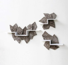Jyuhe Wall Shelf Series by Taeg Nishimoto