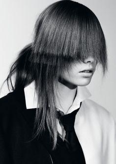 Centrefold Magazine AW 2012 | Vapour #fashion #photography