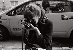 FFFFOUND! | On Display #sweden #white #girl #camera #black #and