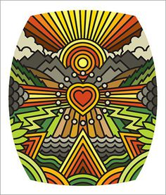 work_target_heartworks.jpg #illustration #thick lines #draplin