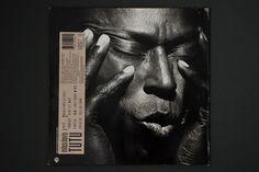 Hardformat » Miles Davis – Tutu #graphic design #album cover #miles davis #tutu #eiko ishioka