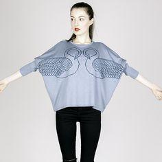 #swan #sweater #fashion