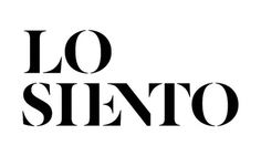 Losiento identity by MUCHO #identity