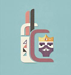 Javier Garcia Design // Work #papercut #illustration