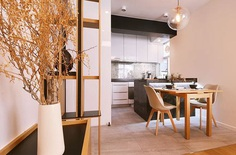 Hong Kong Apartment with an Asian-Inspired Interior - InteriorZine