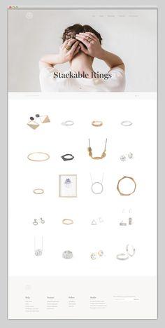 Websites We Love — Showcasing The Best in Web Design #buy #agency #jewels #onlineshop #shop #portfolio #design #best #website #ui #store #jewelry #minimal #webdesign #web #typography