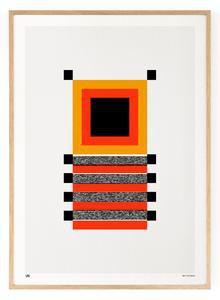 Outlined.cc Limited Edition Artwork Segments No.1 art geometric print design artprint wallart