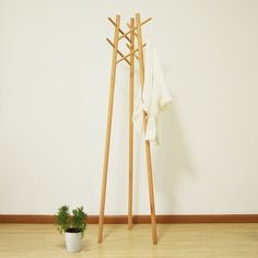 作品 - 木智工坊 #furniture #rack #coat
