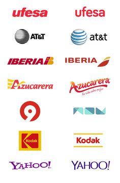 "Rediseños de logos ""poco acertados"" #logos #branding #logo #design #graphic design"