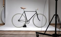 bicycle redesign by Nest atelier | slovakia facebook.com/KitchenInThe #atelier #nest #fixed #in #matej #oldschool #retro #office #black #the #gear #kukucka #brooks #kitchen #slovakia #singlespeed #photography #studio #favorit