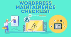 WordPress Website Maintenance – Plan [Tasks