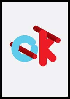 okokokokokok on Behance #ok #vector #design #graphic #type #typography