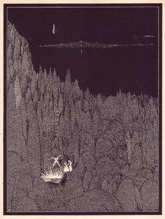 Harry Clarke, Illustrations for E. A. Poe - 50 Watts #harry #woods #poe #clarke