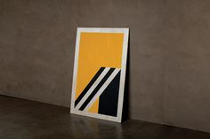 Marcus Hollands #minimal #poster #abstract #geometric #paint #acrylic