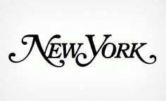 Milton Glaser | The Work | New York Magazine #logo #logotype #trademark